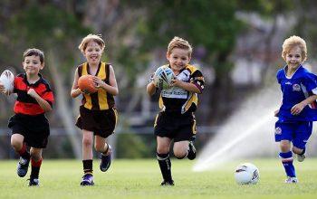Crianças e esportes: um ótimo esporte para crianças de 5 anos
