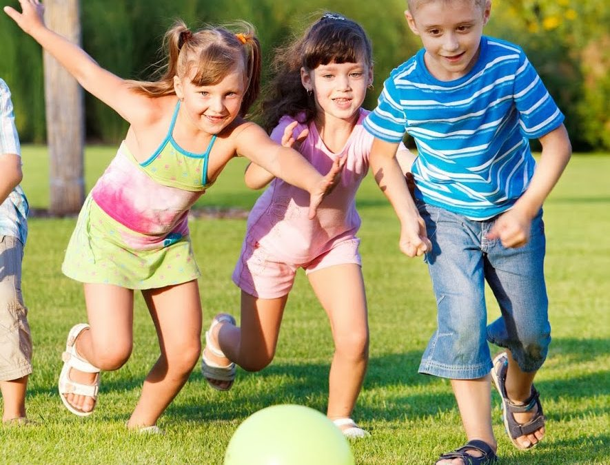 Esporte para crianças de 5 anos