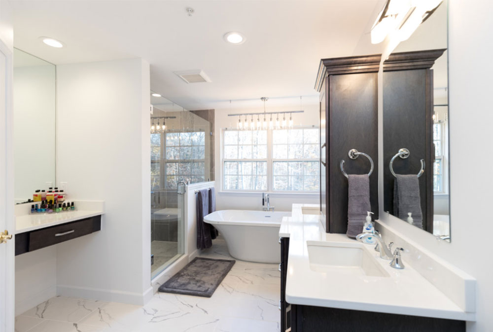 Modernização de banheiros e cozinhas