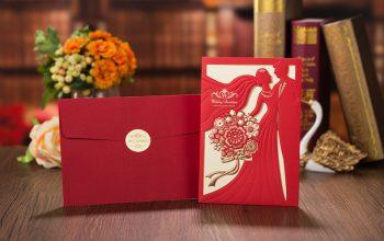 Os melhores cartões de casamento